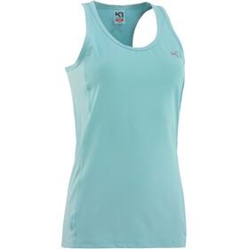 Kari Traa Nora Mouwloos Shirt Dames turquoise